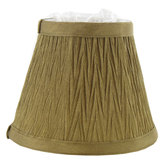 Gold Mini Crinkled Lamp Shade